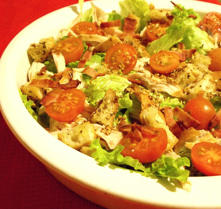Chicken Salad with Croutons Recipe