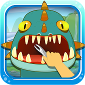Dinosaur Dental Surgery game