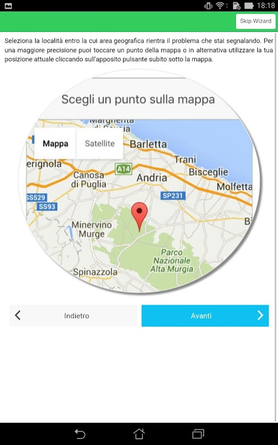 Murgia Pulita- screenshot