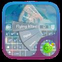 Flying kites GO Keyboard icon