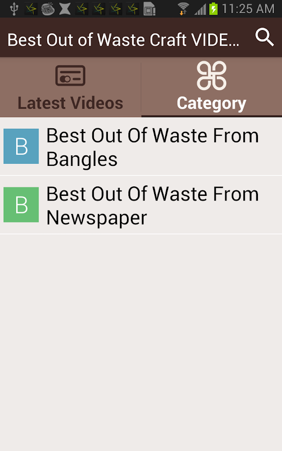 Best out of waste craft videos android apps on google play for Best out of waste craft