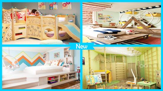 Kreativní dětské ložnice nápady - náhled