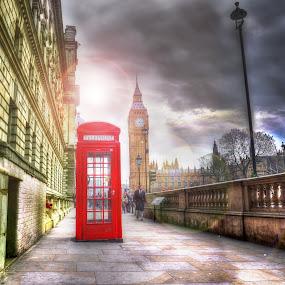 Big Ben by Piotr Owczarzak - Buildings & Architecture Public & Historical ( england, london, westminster, clock, tower,  )