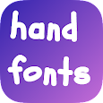 Hand Fonts for Samsung