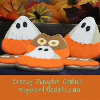 Crazy Pumpkin Cookies