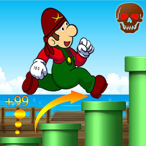 Jungle Adventure Jump 益智 App LOGO-硬是要APP