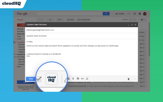 Share and attach files in Gmail™