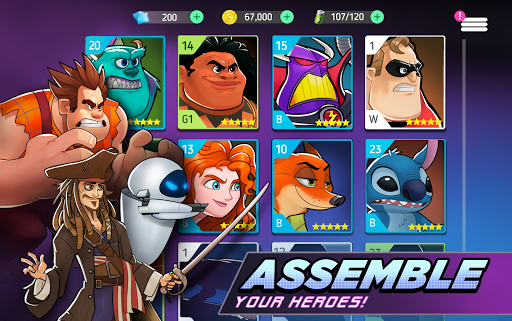 Télécharger Gratuit Code Triche Disney Heroes: Battle Mode MOD APK 2