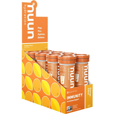 Nuun Immunity Hydration Tablets: Orange Citrus, Box of 8