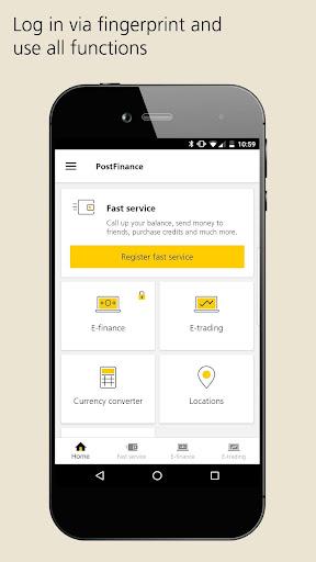 PostFinance Mobile 4.8.1 screenshots {n} 1