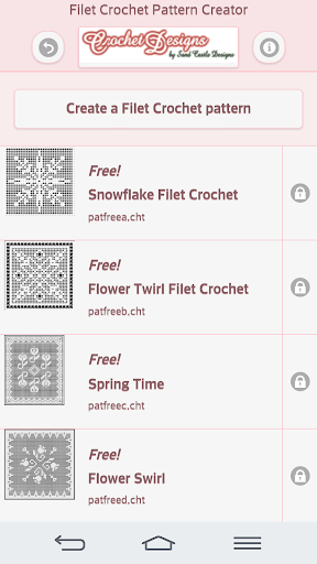 Filet Crochet Pattern Creator 1.6.2 screenshots 1