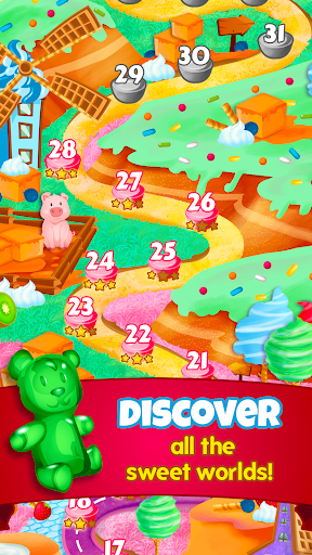Sugar Blast: Sweet Collapse – Free Match 3 Puzzle - screenshot