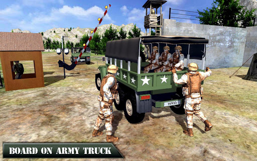 US Army Off-road Truck Driver 3D download 1
