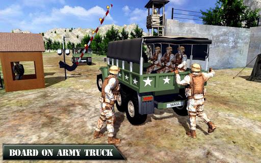US Army Off-road Truck Driver 3D 1.1 screenshots 1