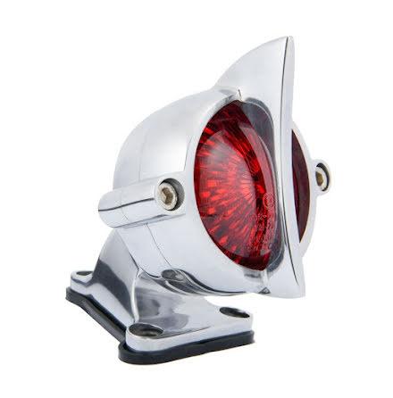 Motone Cuda Tail Light + Fender Mount Kit - Polish