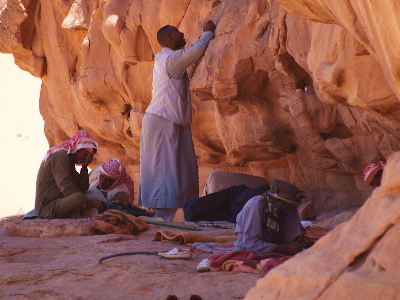 Preghiera nel deserto di Boboparra