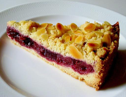 German Cherry Streusel Cake – Authentic