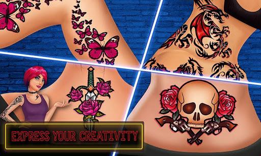 Virtual Artist Tattoo Maker Designs: Tattoo Games 1.6 screenshots 2