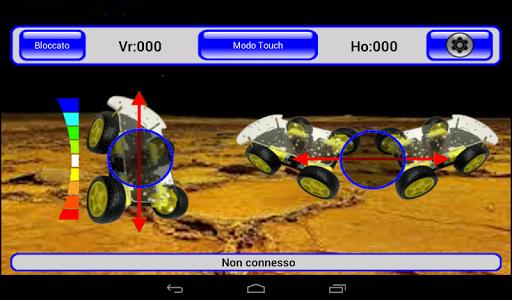 Arduino & IRacer Bt controller screenshot 12