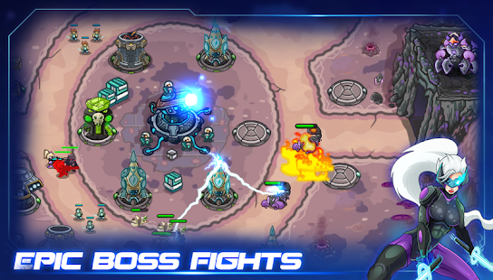 Galaxy defense: Lost planet (Unreleased) Hack for the game