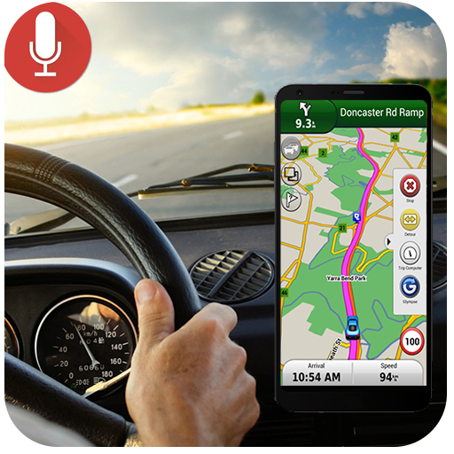 Voice GPS Navigation & Maps Tracker file APK for Gaming PC/PS3/PS4 Smart TV