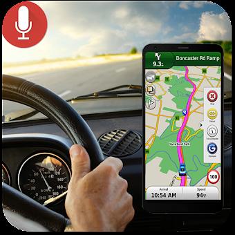 Voice GPS Navigation & Maps Tracker