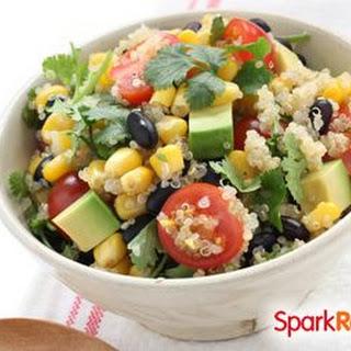 Southwestern Quinoa Avocado Bowl Recipe