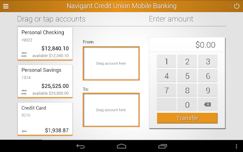 Navigant Credit Union Mobile- screenshot thumbnail