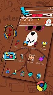 Brown Bear Friends Theme - náhled