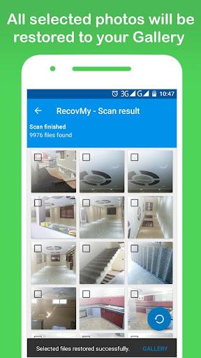 Restore Deleted Photos - RecovMy screenshot 3