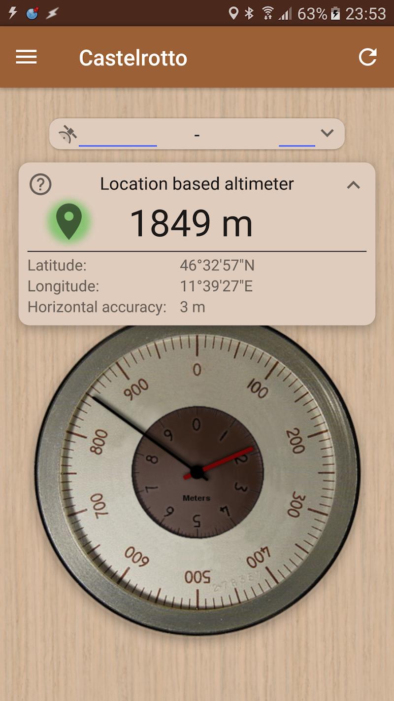 Accurate Altimeter PRO Screenshot 3