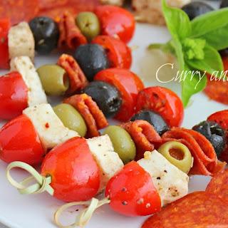 Antipasto Kebab Appetizers Recipe