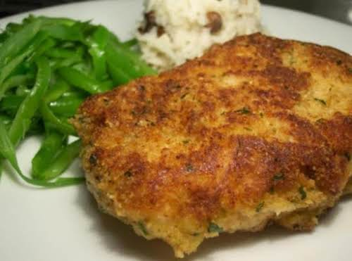 """Parmesan Crusted Pork Chops""""Well I made it tonight and these pork chops..."""