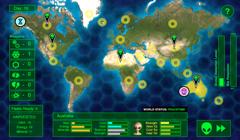 android Invaders Inc. - FREE Screenshot 1