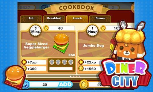 Diner City screenshot 2