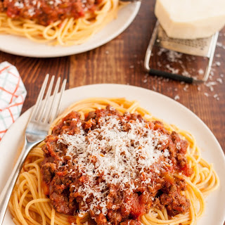 Slow-Cooked Bolognese Sauce.