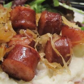 Sausage and Sauerkraut.