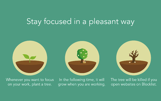 Forest: stay focused, be present - Chrome Web Store