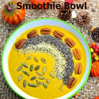 Pumpkin Spice Smoothie Bowl