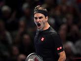 Roger Federer op cruise control door naar de volgende ronde van de Australian Open