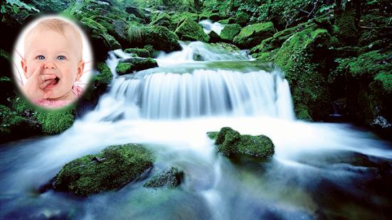Waterfall Photo Frames montage screenshot