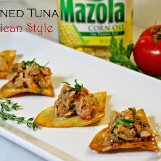 Canned Tuna Mexican Style.