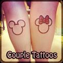 COUPLE Tattoo Design icon