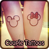 COUPLE Tattoo Design