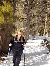 Photo: Michelle hiking up the Twin Sisters Trail