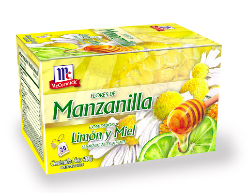 te mc cormick manzanilla limon y miel 20und