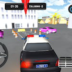 Police Car Parking - Driving School Icon