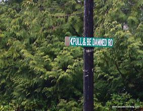 Photo: Interesting road sign!