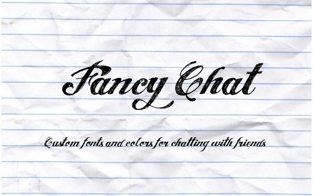 Fancy Chat