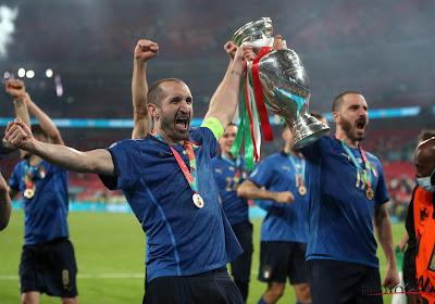 📷 Un supporter italien se fait tatouer une image particulière après le sacre à l'Euro 2020